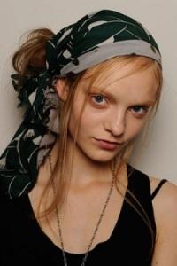 модные способы завязать платок на голове