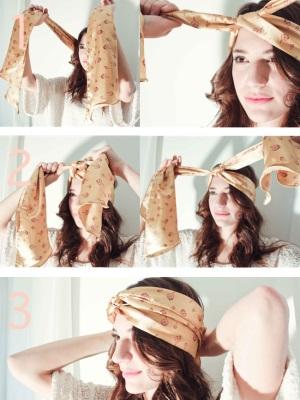 Эксперименты с шарфами – смена